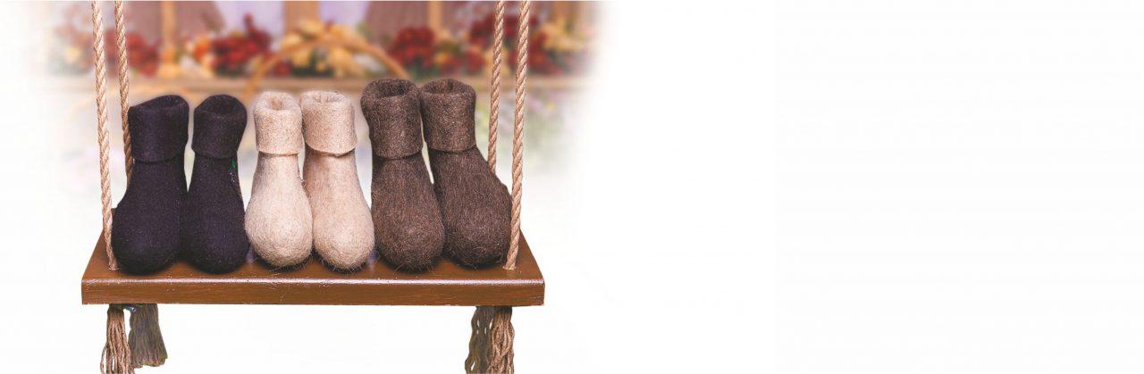 <b>Утепленная обувь для всей семьи по отличным ценам!</b> В нашем ассортименте представлены валенки, чуни любых размеров для детей и взрослых